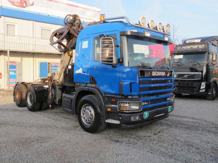 SCANIA P 124 420 6x4 LESÁK